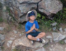 dev meditating